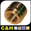 High quality custom made CNC turning brass machine parts