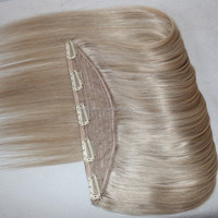 One Piece Clip In Hair Extensions One Piece Full Head Long Straight Natural Hair Extension