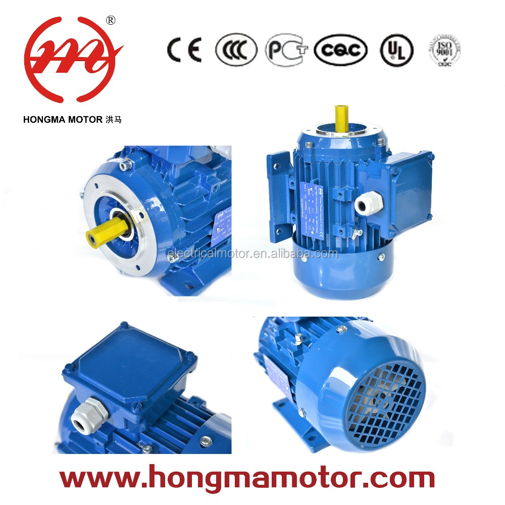 high torque low rpm 120v 500w 2 pole three phase ac electric induction motor