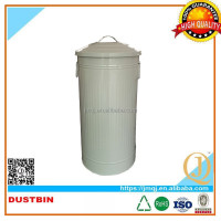 46L hot sale metal stackable storage bin with lid