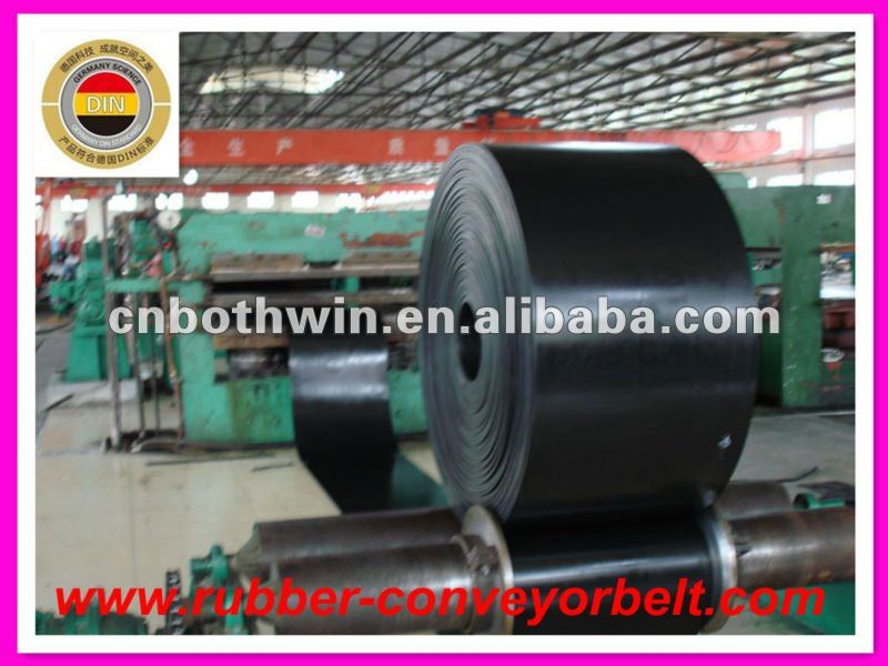 oil resistant rubber conveyor belts used in mining, raw edge cogged v belt