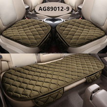 3Pcs/Set Cheap Rhinestone Sheepskin Foam Car Seat Covers