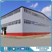 Low Cost and Professional Design Prefabricated Steel Structure Building Warehouse and Workshop for Construction