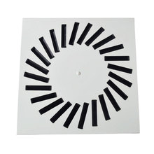 China Supplier low noise air diffusers door grille