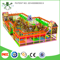 Children indoor Ball shooting playground for sale