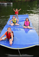 Hot Sell Unsinkable Foam Floating Water Mat for watersports running man