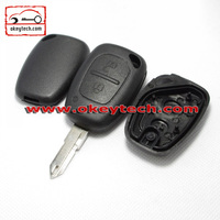 OkeyTech Renault 2 buttons remote key shell 206 blade for key renault car key