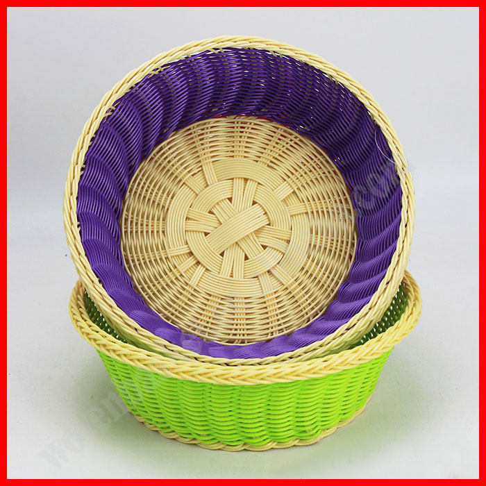 cheap decorative hand-crafted wicker basket