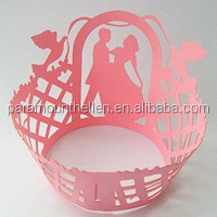 christmas wrapper design laser cut cupcake wrapper for cake decorations
