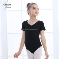 Girls Black Ballet Leotard For Training