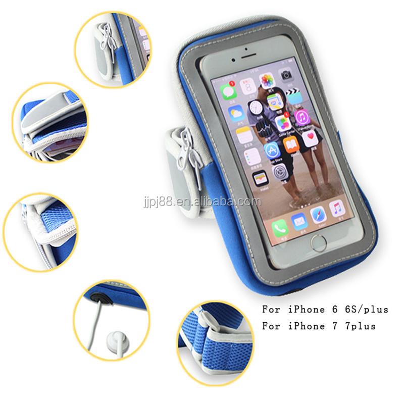 "Sports Running Jogging GYM Arm Bag Arm Band Case Cover Holder For Iphone 6 6S 4.7"" mobile phone"