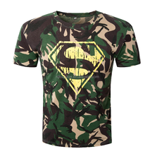 Camo functional motorcycle style Men's T-shirt
