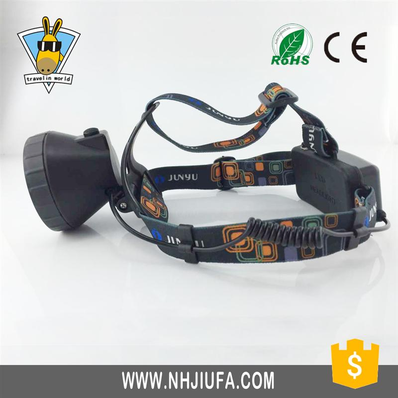 HOT SALE xpe hand held plastic led small headlamp for workimg made in China