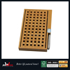 Bamboo square bread cutting board with knife