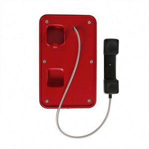 Hot sell railway tunnel telephone with alarm Light,JR103-CB-L Outdoor emergency telephones
