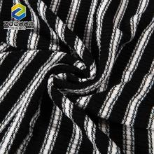 Custom wholesle black cotton polyester spandex fabric in bulk