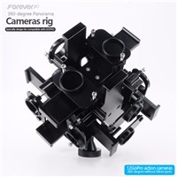 Hot Sale Protective 360 Degree Spherical Filming Rig with 12pcs Mount for Go Pro Hero 3 &4 Video Cameras