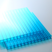 XINHAI Transparent 8mm hollow twin wall Polycarbonate solar panel roofing Sheet