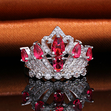 dropshipping women ruby ring holder
