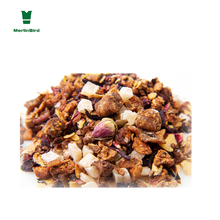 Chinese export wholesale cheap dried fruit tea rose pineapple blend tea
