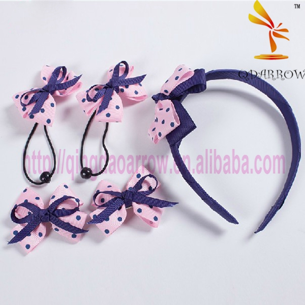Pretty gifts bowknot hairbands hair accessories for girls