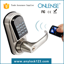 gate lock touch screen lock with remote control distributors