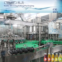 Automatic 8000BPH Polymer star wheel glass bottle filling machine price