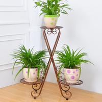 Best sell welcome wholesales garden iron shelf for plant