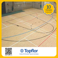 Topflor Professional Equipment 7.0mm Sports Gym Court Sport Floor