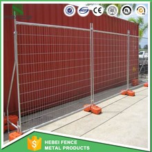 Australia 4mm*4mm heavy duty chain link fence for protable with posts