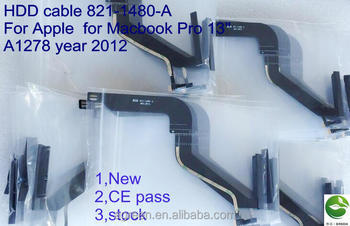 "HDD cable 821-1480-A For Apple for Macbook Pro 13"" A1278 year 2012"