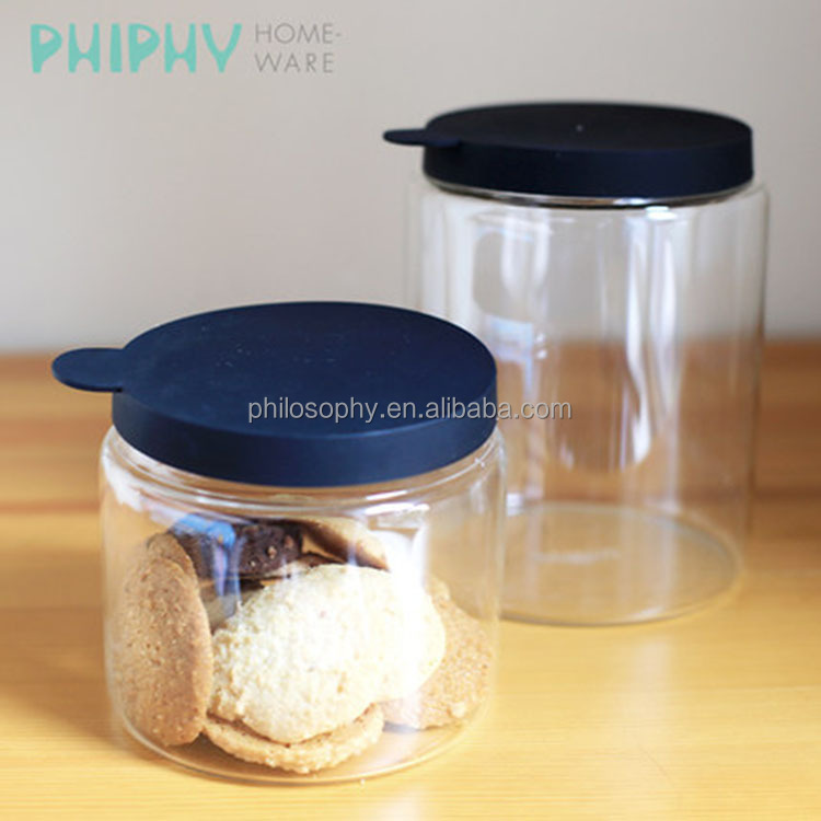 Wholesale glass jar container Online Buy Best glass jar container