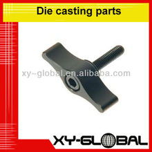 custom screw cap aluminum enclosure drill die cast parts