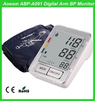 Home Use Portable Digital Blood Pressure Meter/Monitor with Pluse Oximeter Function
