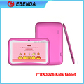 Low cost 7 inch children tablet kids tablet 512MB Ram/4GB Rom Dual Camera, WIFI