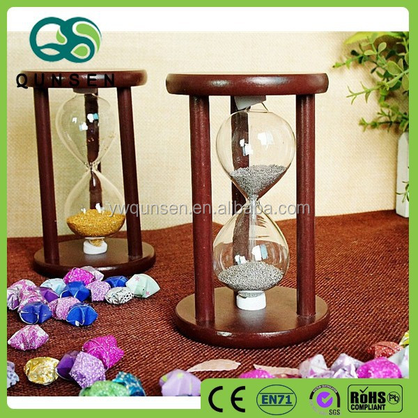 wooden custom cheap large hourglass sand timer