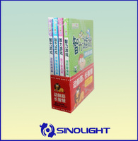 Cheap School Coupon Book Softcover Coated Paper Book Printing A Set Of Book Section Sewing Factory OEM