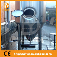China Products Glycol Jacket Conical Fermenter Laboratory Fermenter