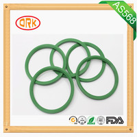 Green Oil Resistance Viton rubber gasket seals