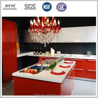 modified acrylic solid surface artificial stone for kitchen countertop surfaces
