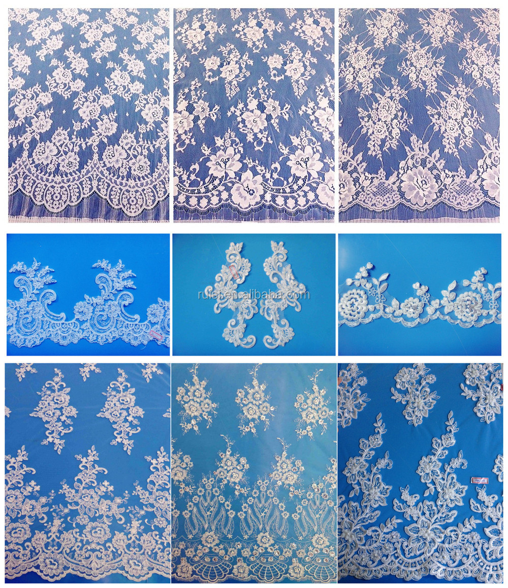 China 2015 New Design Hot Sales Guipure Lace Trim For Baby Clothing From Xiamen Ruisi