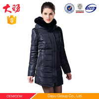 china supplier women clothing waterproof jacket for winters woman long down coat snow jacket