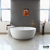 China solid surface shallow dog bathtub price