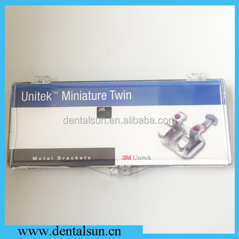 Dental Orthodontic Miniature Twin Roth Rx 022 Metal Brackets REF 017-114