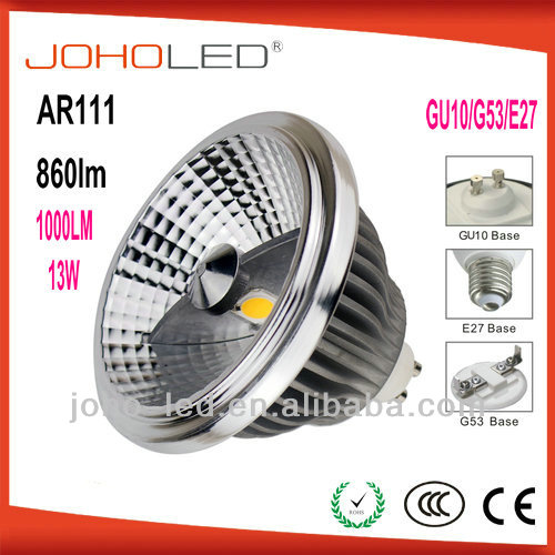 New arrival 13w AR111 cob led light light led light