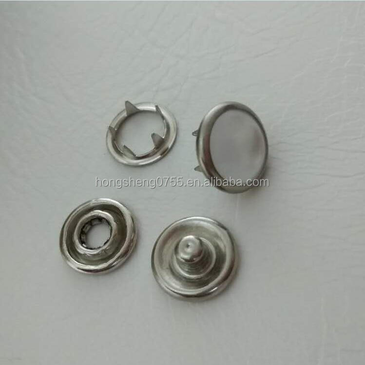 2013hot selling pearl snap button,metal snap on button ,4parts prong snap button