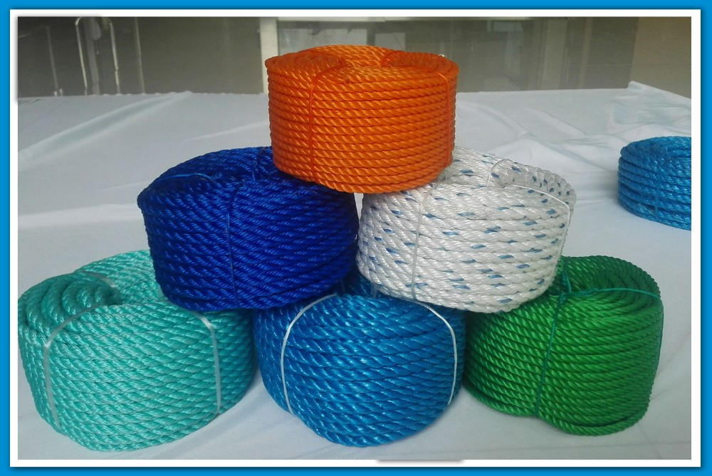 32mm 3-Strand Nylon Rope Cord Polypropylene Twisted Pp Rope