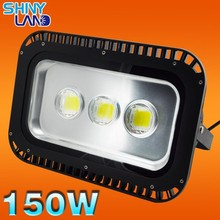 High lumen competitive price150w outdoor led flood light, IP65 led flood light 150w lens