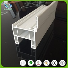 White co-extruded pvc window profiles