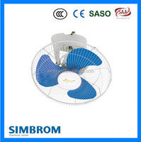 Air cooling fan fashion design whisper quiet motor 16 inch new electric ceiling fan